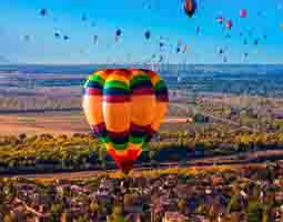 Hot air balloon small