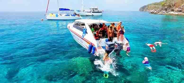 raya-coral-island-speed-boat