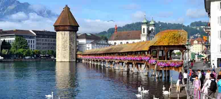 Chapel-Bridge-Switzerland